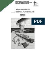 Disc.  Nº 1. Carga Eléctrica y Ley de Coulomb (1)
