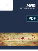 2011 MVLE Annual Report