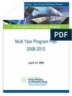 Solar Program Mypp 2008-2012