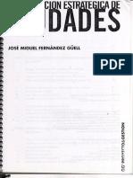 Planficacion Estratégica de Ciudades - Jose Miguel Fernández Güell