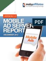 Mobile Ad Server Report