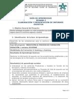 GUIA 2 Elaboración y presentación de informes