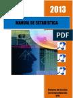 2013 MANUAL DE ESTADÍSTICA