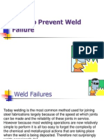 How to Prevent Weld Failure