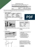 Soal Paket 01 Ipa Th Pel 2012-2013