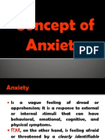Concept of Anxiety