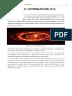 Fundamentos de Astrofísica_Historia de la Astrofísica