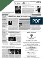 """Terre forti su """"La Sicilia"""" del 13 marzo 2009"""