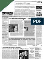 """Terre forti su """"La Sicilia"""" del 16 marzo 2009"""