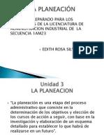 Admon Integral Tema 3 La Planeacin[1]