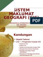 Sistem Maklumat Geografi (GIS)