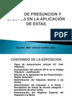 3 Presunciones Art 65A
