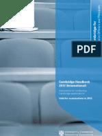 Cambridge Handbook 2012 (International)