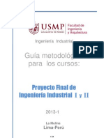 Guia Proyectos I y II 2013-1