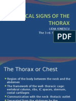 Physical Signs of the Thorax