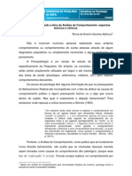 B - ALDINUCCI,B.(2011) - A psicopatologia sob a ótica da AC, aspectos teóricos e clínicos