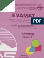 Manual Evamat Vol.1