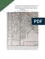 Frontera Norte de Chile de Acuerdo Al Uti Possidetis Juris de 1810