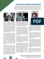 EDUCACIÓN Y RECURSOS TECNOLÓGICOS