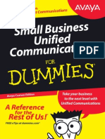 Small Business Unified Communications For Dummies