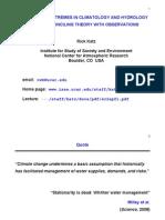Geography.climatology and Hydrology
