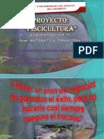 Proyecto de Lulu y Flor Truchas