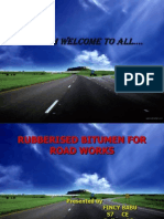 Rubberised Bitumen for (1)