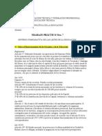 Comparativa Leyes Educación (Argentina)