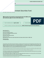 BNP Paribas Government Securities Fund