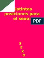 Distintas Posiciones de Sexo