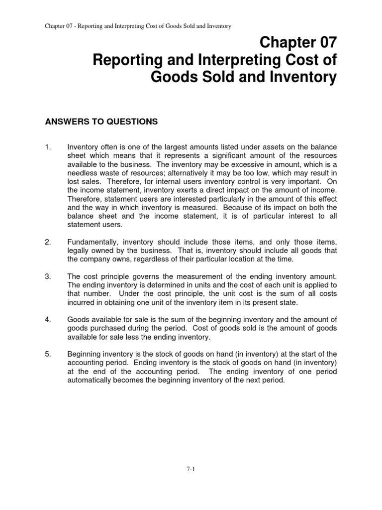 Libby financial accounting chapter7 cost of goods sold inventory libby financial accounting chapter7 cost of goods sold inventory valuation fandeluxe Choice Image