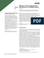 Sistema Renina-Angiotensina-Aldosterona. Su Utilidad Clnica