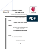 Instituto Tecnológico Superior SISTEMAS DE GESTION DE CALIDAD