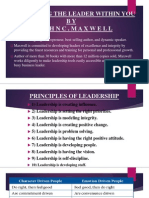 Presentation Leadership Review