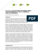 Methods for Evaluating the Dynamic-wheel-load Performance of Heavy Commercial Vehicle Suspensions - Prem
