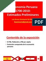 La economía peruana 1700-2010 - Bruno Seminario (2011)