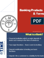 Banking Products & Terms 2013