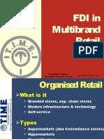 FDI in Multibrand Retail 2013