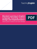 Blended Learning in English Language Teaching