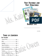 weebly text features booklet 3