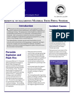 CSB_Safety Bulletin_Removal of Hazardous Material From Piping Systems (2004)