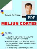 MELJUN CORTES Querying Database