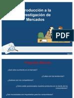 3. Investigacion de Mercados