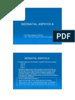 Neonatal Asphyxia Final