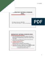 Respiratory Distress Syndrome (Rds) Final
