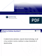 Presentation online auction