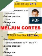 MELJUN CORTES Byte & Number