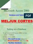 MELJUN CORTES Microsoft Access 2000