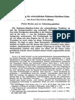 Bärthlein Zur Entstehung der aristotelischen Substanz-Akzidens-Lehre