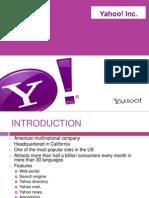 Yahoo Organisation life cycle